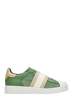 MOA-Sneakers Basse M510 in pelle verde