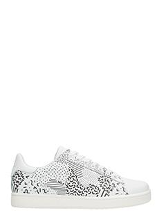 MOA-Sneakers Basse M540 in pelle bianca