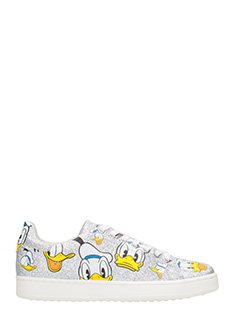 MOA-Sneakers Basse MD46 Donald Duck in glitter argento
