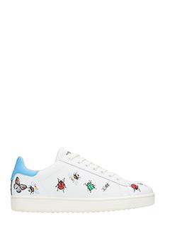 MOA-Sneakers Basse M549 in pelle bianca