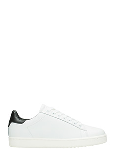 MOA-Sneakers Basse MD57 in pelle bianca