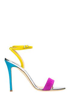 Giuseppe Zanotti-Kloe  multicolor leather sandals