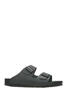 Birkenstock-Sandali Monterey in pelle nera