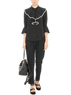 Chloé BLACK SILK PANTS 2