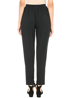 Chloé BLACK SILK PANTS 3