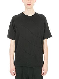 Bruno Bordese-T-shirt Driver in cotone nero