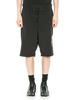 Bruno Bordese-Shorts Efron in cotone nero