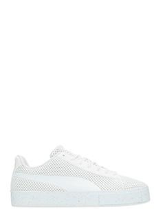 Puma-Sneakers Court Plaform x Daily Paper in tessuto tenico bianco