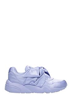 Puma Fenty-Sneakers Bow in satin e gomma viola