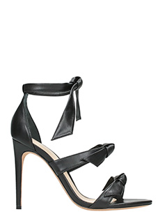 Alexandre Birman-Gianni  black leather sandals