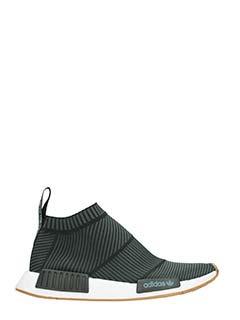Adidas-Sneakers Nmd City Sock CS1 PK in tessuto tecnico nero