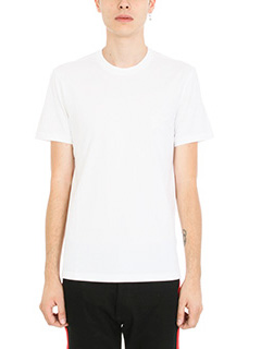 Givenchy-T-Shirt Star Print in cotone bianco