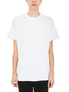 Givenchy-T-Shirt Star All Over in cotone bianco stampa stelle