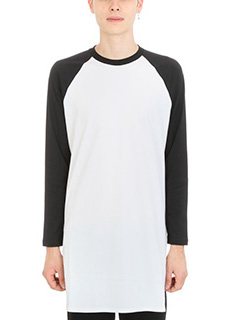 Givenchy-T-Shirt in cotone bianco e nero