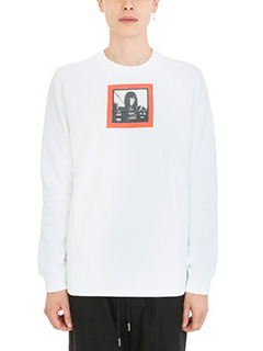 Givenchy-Felpa in cotone bianco