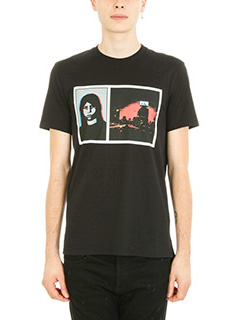 Givenchy-T.shirt  in cotone nero