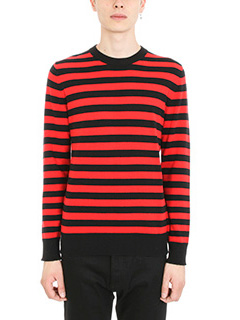 Givenchy-Red Knit Sweater