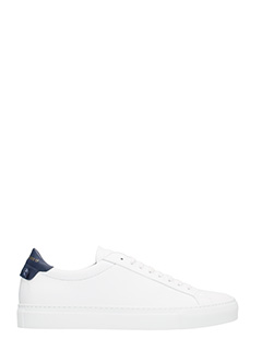 Givenchy-Sneakers Urban street low in pelle bianca