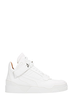 Givenchy-Sneakers Tyson in pelle bianca