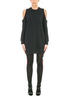 Givenchy-Black sweatshirt dress