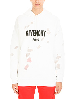 Givenchy-Felpa Oversized in cotone bianco