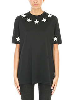 Givenchy-Star appliqu� Over T-shirt