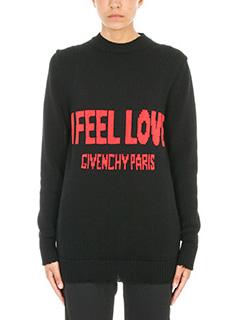 Givenchy-I Feel Love intarsia sweater