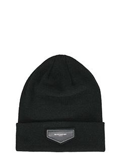 Givenchy-Cappello Beanie in lana nera