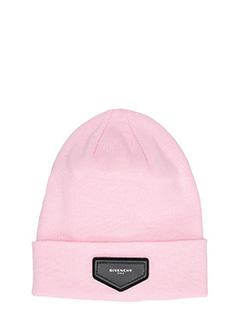 Givenchy-Cappello Beanie in lana rosa
