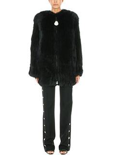Givenchy-Pelliccia di volpe nera
