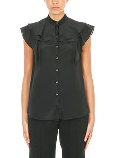 Givenchy-Ruffled chiffon blouse