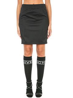 Givenchy-Neoprene track skirt