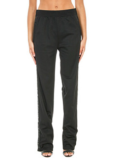 Givenchy-Logo Stripes trousers
