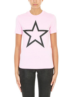 Givenchy-Star Print Slim T-shirt