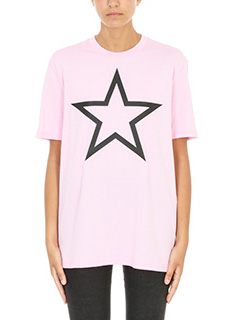 Givenchy-Star Print OverT-shirt