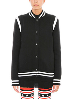 Givenchy-Givenchy Logo embroidered wool-blend varsity jacket