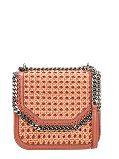 Stella McCartney-Falabella boxe  leather color polyamide bag