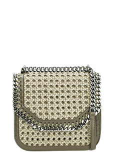 Stella McCartney-Falabella boxe  green polyamide bag