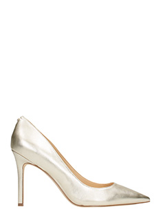 Sam Edelman-Decollet� Hazel in pelle metal oro