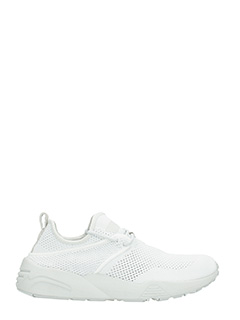 Puma  x Stampd-Sneakers Trinomic Woven in tessuto bianco