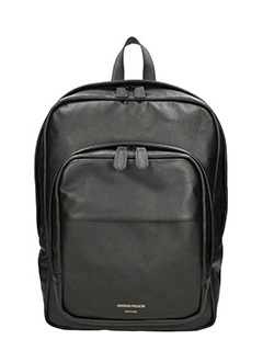 Common Projects-Backpack black leather backpack