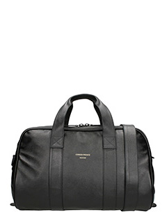 Common Projects-Duffle  black leather bag