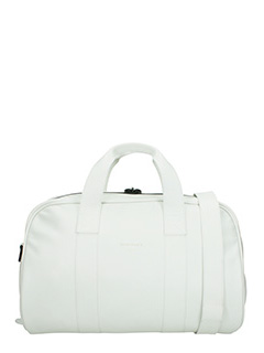 Common Projects-Borsone Duffle in pelle bianca