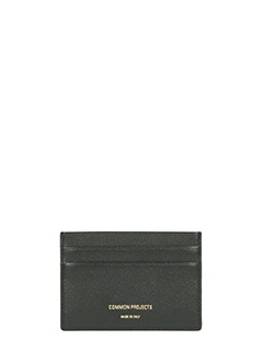 Common Projects-Portacarte Multi in pelle nera