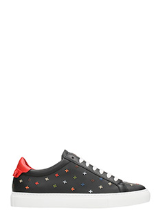 Givenchy-Sneakers Urban Knot Low in pelle nera