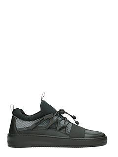 Thoms Nicoll-Sneakers in pelle nera