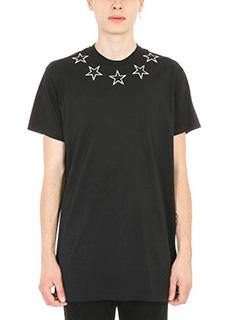 Givenchy-Star appliqu� T-shirt