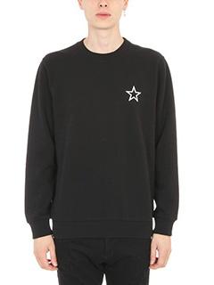 Givenchy-Felpa Star Print in cotone nero
