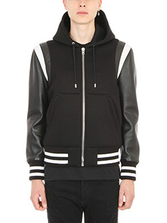 Givenchy-Logo Black Bomber Jacket