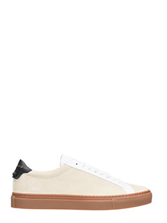 Givenchy-Sneakers Ruban Knots in suede beige